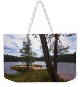 Lake Huosius At Hossa Weekender Tote Bag