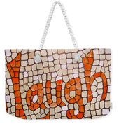 Laugh Weekender Tote Bag