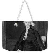 Laurence Sterne (1713-1768) Weekender Tote Bag