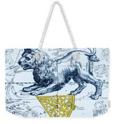 Leo, The Hevelius Firmamentum, 1690 Weekender Tote Bag by Science Source
