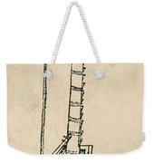 Leonardo Da Vincis Lifting Gear Weekender Tote Bag by Science Source