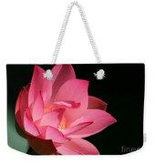 Lotus Diva Weekender Tote Bag
