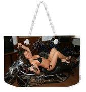 Biker Weekender Tote Bag