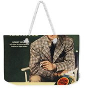 Lucky Strike Cigarette Ad Weekender Tote Bag