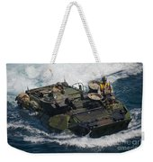 Marines Navigate An Amphibious Assault Weekender Tote Bag