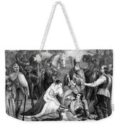 Mary Queen Of Scots Weekender Tote Bag by Photo Researchers