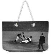 Maury Wills (1932- ) Weekender Tote Bag