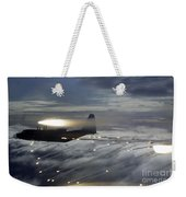 Mc-130p Combat Shadow Dropping Flares Weekender Tote Bag