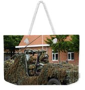 Members Of A Recce Or Scout Team Weekender Tote Bag