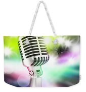 Microphone On Stage Weekender Tote Bag
