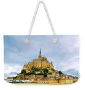 Mont Saint Michel Weekender Tote Bag by Elena Elisseeva