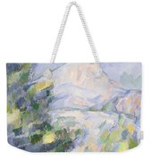 Mont Sainte-victoire Weekender Tote Bag by Paul Cezanne