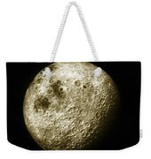 Moon, Apollo 16 Mission Weekender Tote Bag