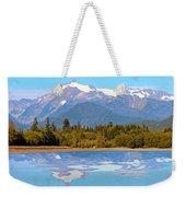 Mount Shuksan Weekender Tote Bag