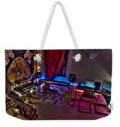 Music Studio Weekender Tote Bag