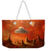 Mysterious Planet Weekender Tote Bag
