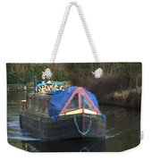 Narrowboat Weekender Tote Bag