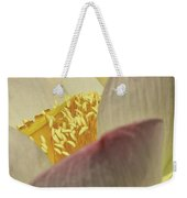 Nelumbo 'pink And Yellow' Weekender Tote Bag
