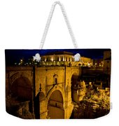 New Bridge In Ronda Weekender Tote Bag
