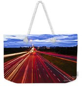 Night Traffic Weekender Tote Bag