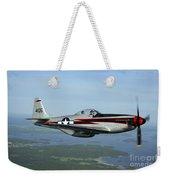 North American P-51 Cavalier Mustang Weekender Tote Bag