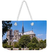 Notre Dame Cathedral Paris France Weekender Tote Bag