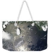 Oil Slick In The Gulf Of Mexico Weekender Tote Bag