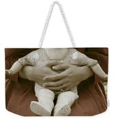Old Doll Weekender Tote Bag by Joana Kruse