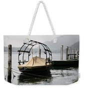 Old Fishing Boat Weekender Tote Bag