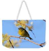 Orangecrowned Warbler Weekender Tote Bag