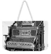 Organ, 19th Century Weekender Tote Bag