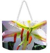 Oriental Lily Hybrid Named Mojave Weekender Tote Bag
