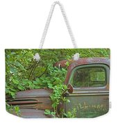 Overgrown Rusty Ford Pickup Truck Weekender Tote Bag
