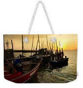 Palaffite Port Weekender Tote Bag