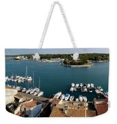 Panoramic Town 1 Weekender Tote Bag