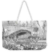 Paris Exposition, 1855 Weekender Tote Bag