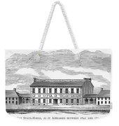 Philadelphia State House Weekender Tote Bag