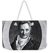 Philippe Pinel, French Physician Weekender Tote Bag by Science Source