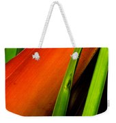 Photograph Of A Parrot Flower Heliconia Weekender Tote Bag