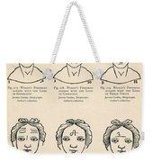 Physiognomy Weekender Tote Bag
