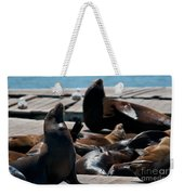 Pier 39 San Francisco Weekender Tote Bag
