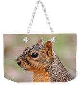 Pine Squirrel Weekender Tote Bag