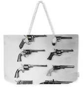 Pistols And Revolvers Weekender Tote Bag