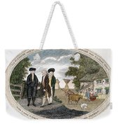 Poor Richard Illustrated Weekender Tote Bag