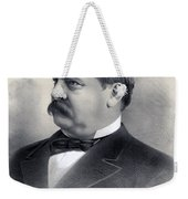 President Grover Cleveland Weekender Tote Bag by International  Images