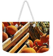 Pumpkins Weekender Tote Bag by Elena Elisseeva