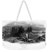 Railroad Construction Weekender Tote Bag