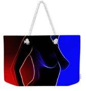 Rainbow Girl Weekender Tote Bag