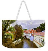 Red Roofs Of Prague Weekender Tote Bag