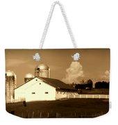 Cattle Farm Mornings Weekender Tote Bag